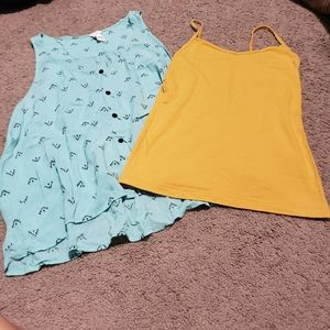 Lots! 2 forever 21 tops